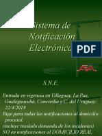 Sistema de Notificación Electrónica en Entre Rios