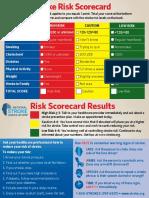 Stroke Risk Scorecard 2018