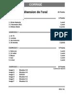 Corrigé Et Barème Delf a1 Sample Paper 2 1