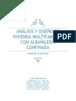 DISEÑO EN ALBAÑILERIA