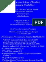 5 MASP Neuropsychology of Reading