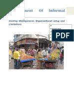 Management of Informal Sector.doc