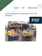 Management of Informal Sector