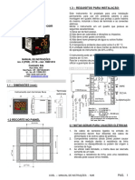 Manual de Instrucoes KM3P r00