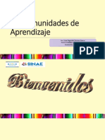 Comunidades de Aprendizaje. AP. Oscar Feliciano