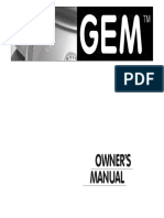 1999 2004 Owners Manual electric car golf
