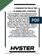 Guia de Codigos de Fallo Del Motor Diesel-glp Cummins