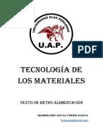 Tecnologia de los materialea
