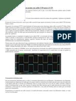 Manual de cableado UTP para CCTV