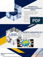 Régimen de La Municipalidad Distrital de Matara