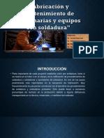 Fabricación y Mantenimiento de maquinarias y equipos.pptx