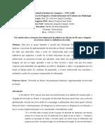 Um Estudo Sobre o Formato Dos Telejornais Brasileiros Na Década de 50 Com a Chegada Do Recurso Visual e a Influência Do Rádio.