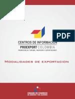 Modalidades de Exportacion(2)