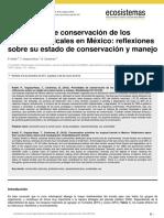 Prioridades de Conservacion de Bosques Tropicales de Mexico