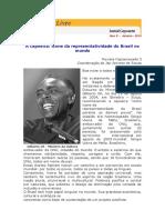 Roda Livre - A Capoeira Ícone Da Representatividade Do Brasil No Mundo