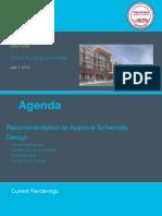 7 1 19 Schematic Design Presentation