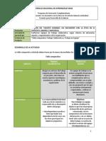 Tabla Comparativa Trabajo Colaborativo y Trabajo en Equipo