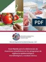 Guía Rápida de Muestreo Estadístico en Inocuidad Alimentaria - OIRSA