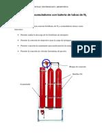 Montaje de Valvulas de Alivio en Baterías de Tubos de N2