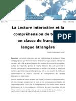 Lecture interactive et compréhension de  lecture en FLE  2012.pdf