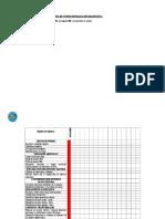 Lista de Cotejo Evaluación DIAGNOSTICA