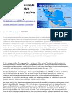Artigo_Haverá Esperança Real de Um Acordo Definitivo Sobre o Programa Nuclear Iraniano.docx