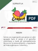 Proyecto Exportación Eco Fruit