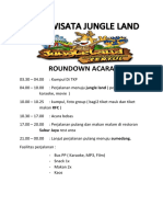 Roundown Acara Jungle Lsnf
