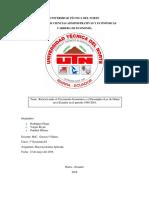 Ley de Okun Aplicada en ecuador  (1980-2018)
