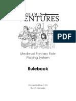 Perilous Venture RPG
