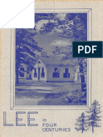Lee in Four Centuries Lee New Hampshire 1766-1966