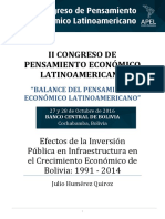 11. Efectos Inversión Pública