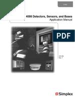 Datasheet Detectores 4298