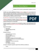 Clase 2 - Síndromes Neurológicos