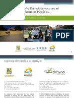 Manual de diseño participativo para la recuperación de espacios públicos