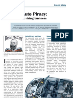 Auto Piracy a Rising Business