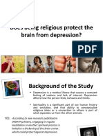 Does Being Religious Protect the Brain From Depression