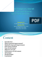 PPt on Ground Improvement of Soil (Minor Project)