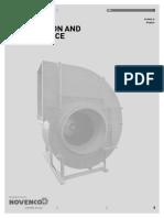 Instalacion y Mantenimiento de ventiladores Novenco