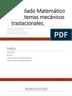 Expo Modelado Sistemas Mecanicos Traslacionales