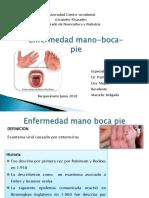 Enfermedad Mano Boca Pie.