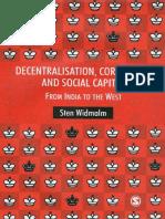 Decentralization, Corruption & Social Capital------Sten Widmalm------2007.pdf