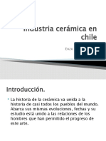 Industria cerámica en chile