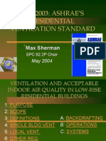 Ashrae Standards 62.2-Ventilation