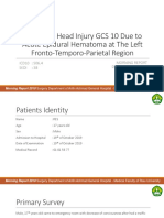 EDH GCS 10 with suture diastasis  - Dhany Febriantara.pptx