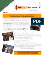 CFY Volunteer Info w. Schools
