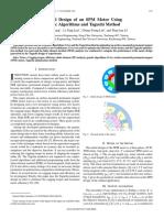 Optimal Design of an SPM Motor Using - Hwang - 2008.pdf
