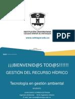 Modulo 2 Toma y Preservación de Muestras - Medidas de Caudal y Parámetros Del Agua