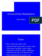 SAS Advanced Data Manipulation[1]