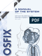 Clinical Guidelines for Dental Implant Treatment